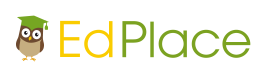 EdPlace Logo. Online source of automated worksheets for Maths, English and Science.