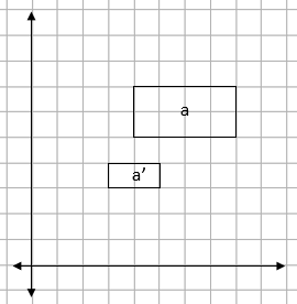 Rectangle on a squared grid