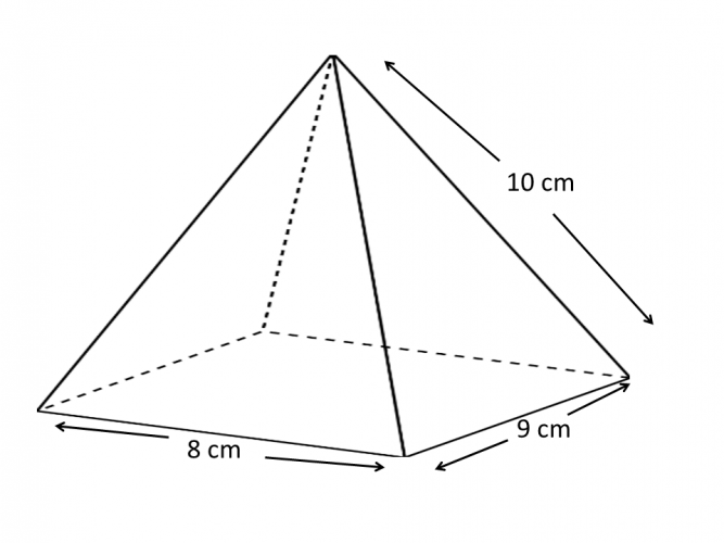 pyramid with no height