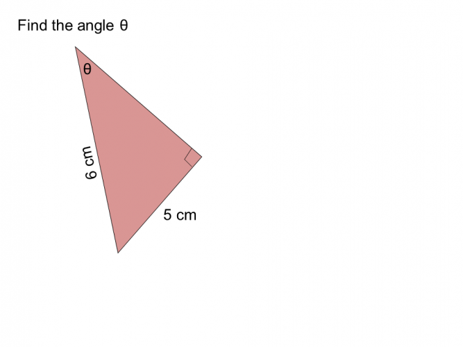 sin ratio find angle