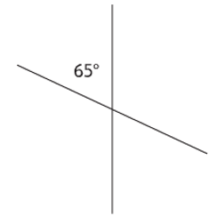 intersecting lines with missing angles