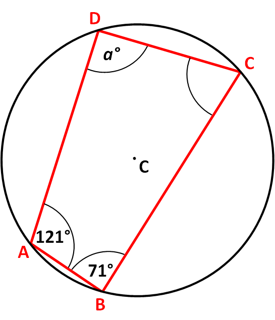 Angles in cyclic quadrilaterals worksheet edplace not drawn accurately abcd is a cyclic quadrilateral ccuart Choice Image