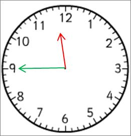 Clock 11:45