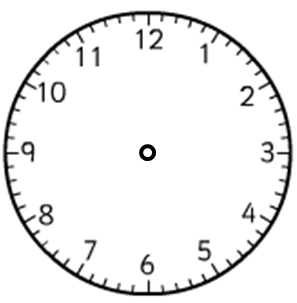 Telling the time roman numerals 1 to 12 worksheet edplace notice that you have to turn your head to read the roman numerals on this clock face altavistaventures Choice Image