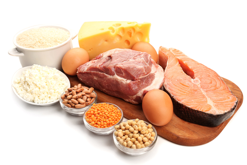 Image of foods high in protein