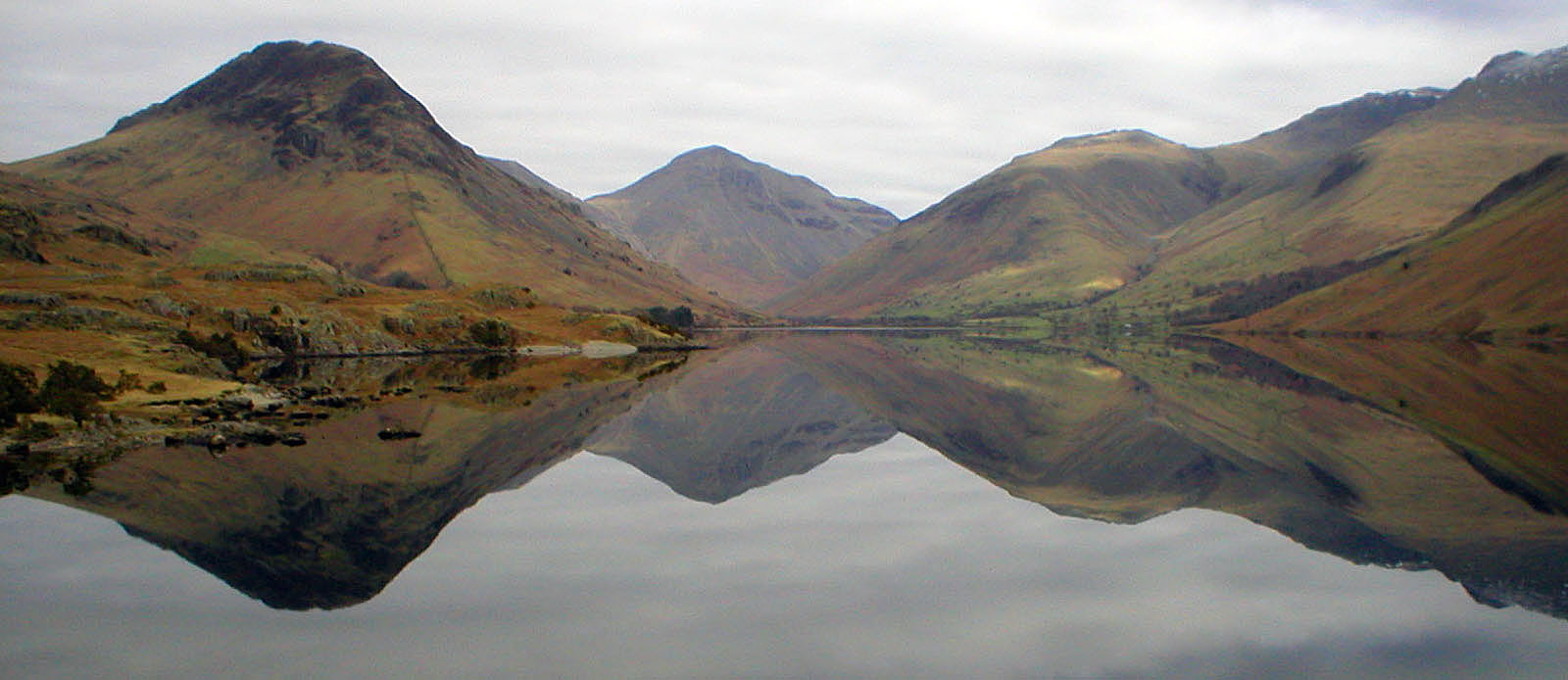 Reflection in lake