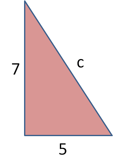right angles triangle