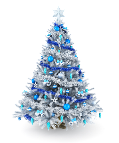 Silver and blue Christmas tree.jpg