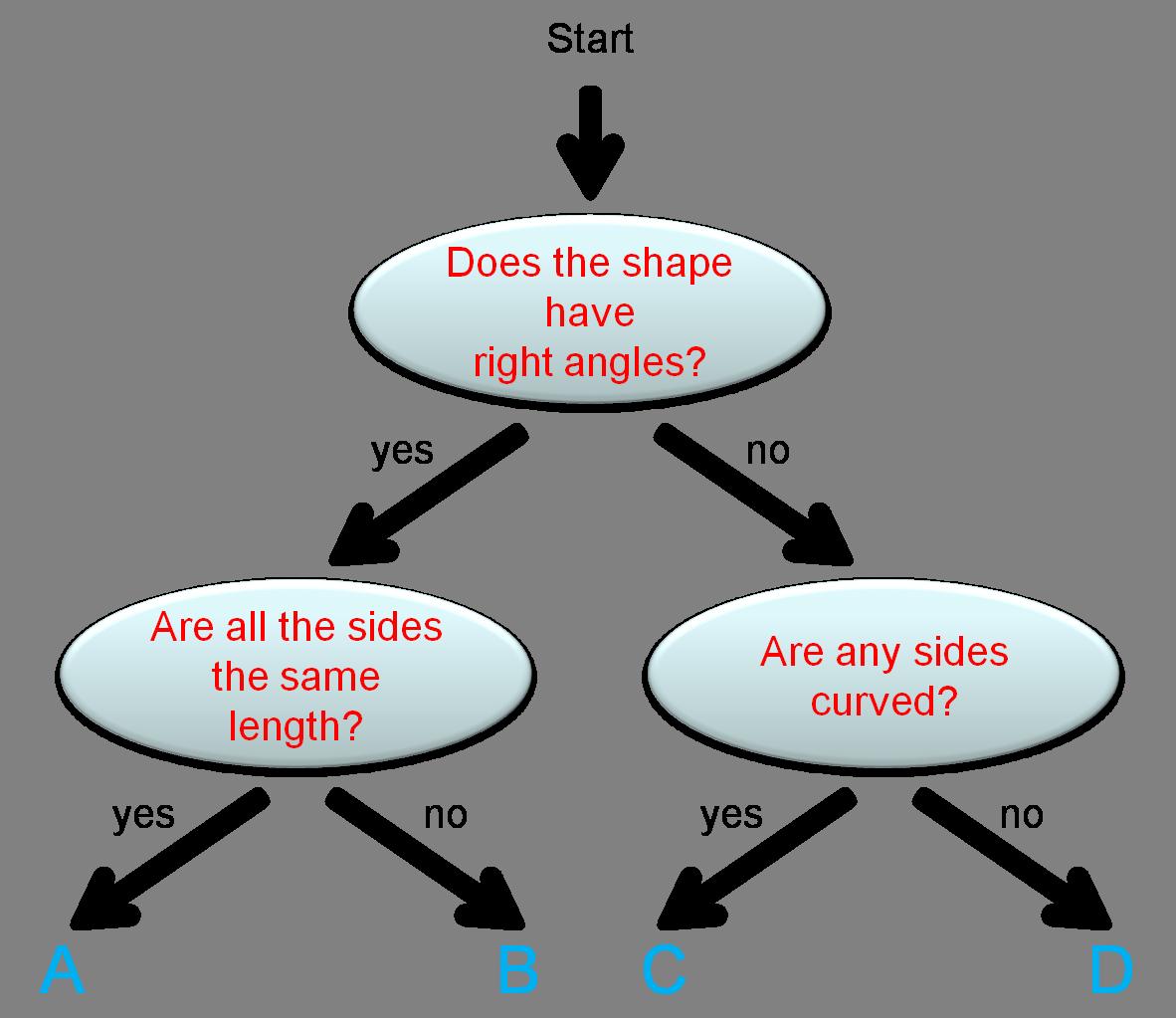 worksheet Tree Diagrams Worksheet know your 2d shapes using tree diagrams worksheet edplace diagrams