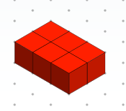 Image of six cubes together