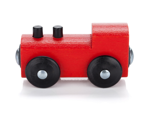 Wooden locomtive