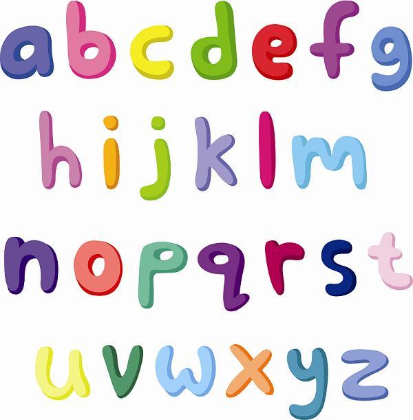 alphabet in lower case