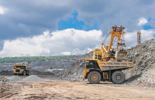 Quarrying metals