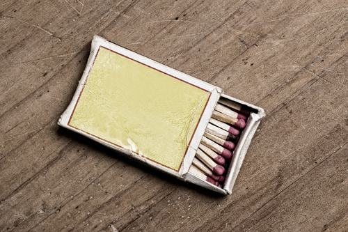 Box of matches