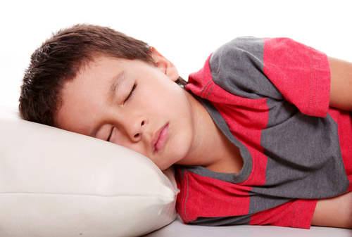 Image of a boy sleeping