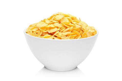 Bowl of cornflakes