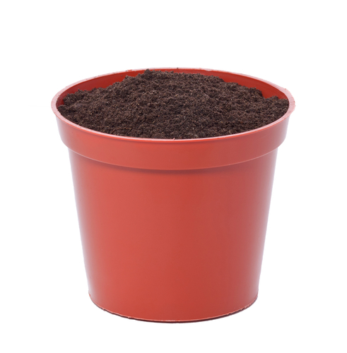 pot with soil