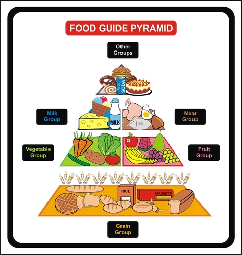 balanced diet means eating a variety of foods from different food ...