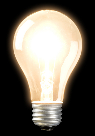 Image of a lightbulb
