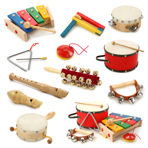 selection of instruments