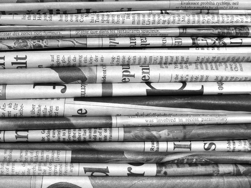 techniques used in newspaper articles