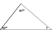 how to find 2 unknown angles of a triangle