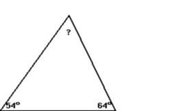 Triangle 54-64-62