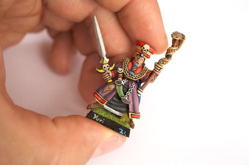Warhammer figure
