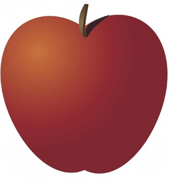 Whole apple